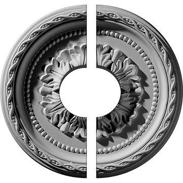Restorers Architectural Palmetto Urethane Split Medallion