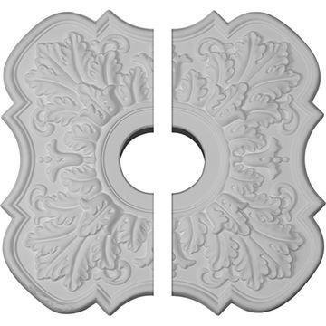Restorers Architectural Peralta Urethane Split Medallion