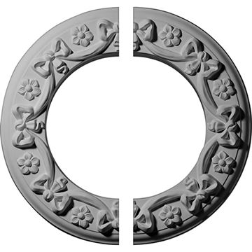 Restorers Architectural Ribbon Urethane Ceiling Medallion