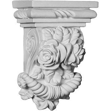 Restorers Architectural Rose Urethane Corbel