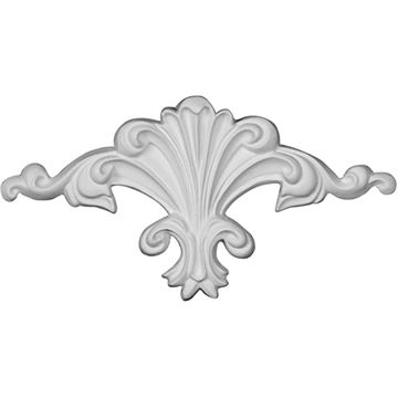 Restorers Architectural Scroll Shell Urethane Onlay Applique