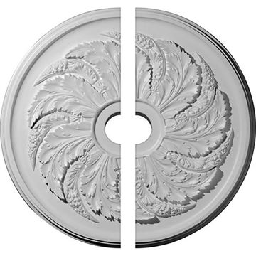 Restorers Architectural Sellek Fern Urethane Ceiling Medallion