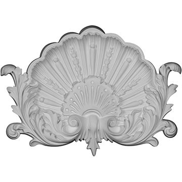 Restorers Architectural Shell & Tulip Urethane Onlay Applique