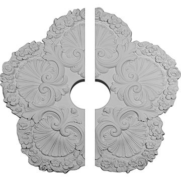 Restorers Architectural Shell Urethane Ceiling Medallion