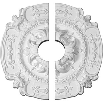 Restorers Architectural Southampton 16 3/8 Inch Ceiling Medallion