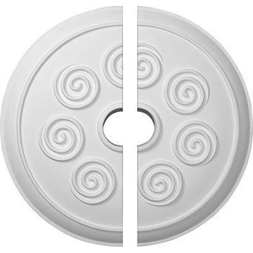 Restorers Architectural Spiral Urethane Ceiling Medallion