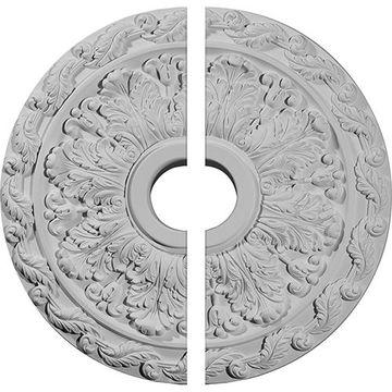 Restorers Architectural Spring Leaf Urethane Ceiling Medallion