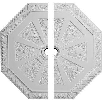 Restorers Architectural Spring Octagonal Urethane Ceiling Medallion