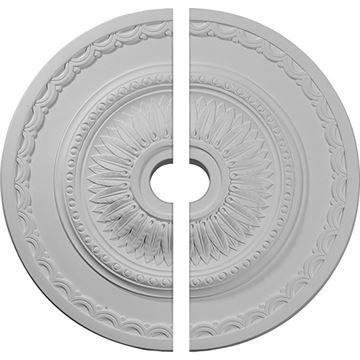 Restorers Architectural Sunflower Urethane Split Ceiling Medallion