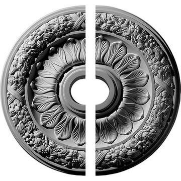 Restorers Architectural Swindon Harvest Urethane Ceiling Medallion