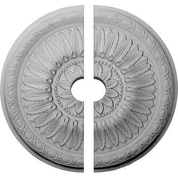 Restorers Architectural Temple Urethane Split Ceiling Medallion