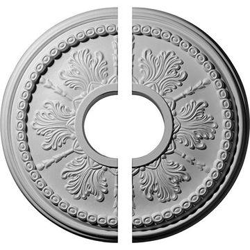 Restorers Architectural Tirana Urethane 2-Piece Medallion