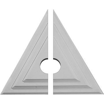 Restorers Architectural Triangle Urethane Ceiling Medallion