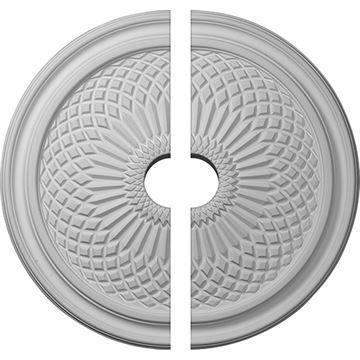 Restorers Architectural Trinity Urethane Ceiling Medallion