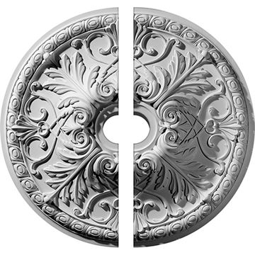 Restorers Architectural Tristan Ornate Urethane Ceiling Medallion