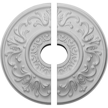 Restorers Architectural Valletta Urethane Split Ceiling Medallion