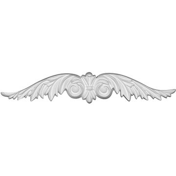 Restorers Architectural Wings Urethane Onlay Applique