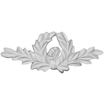 Restorers Architectural Wreath Urethane Onlay Applique
