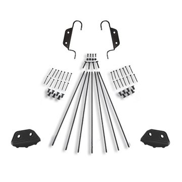 Quiet Glide Double Hook Non-Skid 20 Inch Ladder Hardware Kit
