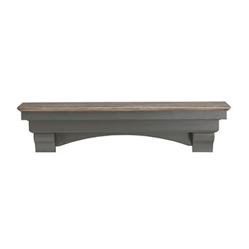 Pearl Mantels Hadley Cottage Distressed Mantel Shelf