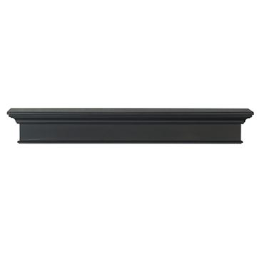 Pearl Mantels Henry Black Mantel Shelf