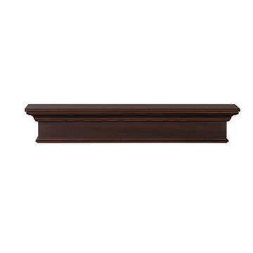 Pearl Mantels Henry Chocolate Brown Mantel Shelf