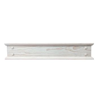 Pearl Mantels Jackson Distressed Unfinished 2-Drawer Storage Shelf