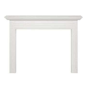 Pearl Mantels Newport White Fireplace Mantel Surround