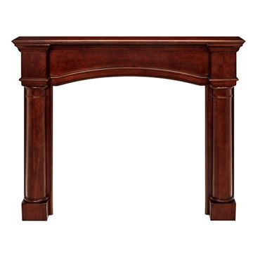 Pearl Mantels Princeton Cherry Finish Fireplace Mantel Surround
