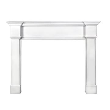 Pearl Mantels Richmond White Fireplace Mantel Surround