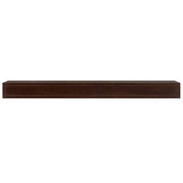 Pearl Mantels Sarah Chocolate Brown Mantel Shelf