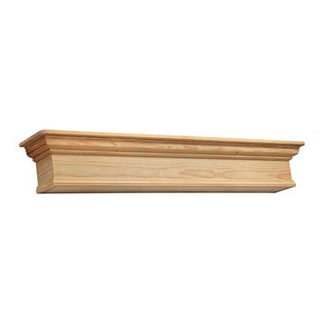 Pearl Mantels Savannah Unfinished Mantel Shelf