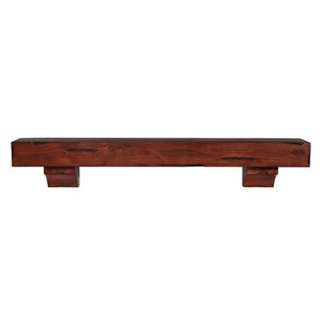 Pearl Mantels Shenandoah Cherry Rustic Distressed Mantel Shelf