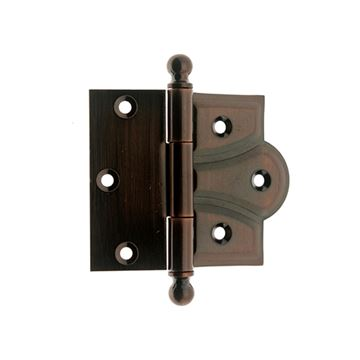 idh by St. Simons 3 Inch Half Mortise Cabinet or Door Hinge - Pair