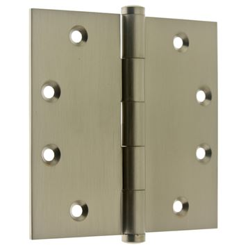 idh by St. Simons 4 1/2 Inch Full Mortise Door Hinge - Pair