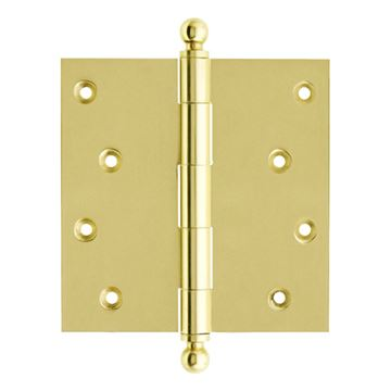 idh by St. Simons 4 x 4 Inch Loose Pin Door Hinge - Pair