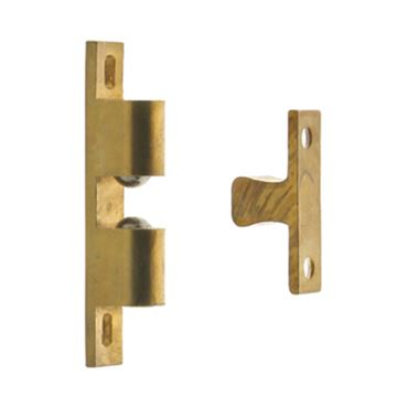 Idh By St. Simons Adjustable Strike Silent Roller Cabinet Latch