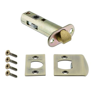 Nostalgic Warehouse 2 3/8 Inch Passage Tube Latch Kit