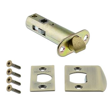 Nostalgic Warehouse 2 3/8 Inch Privacy Tube Latch Kit