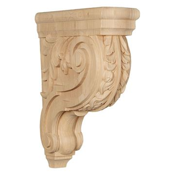 Restorers Architectural 14 Inch Hudson Acanthus Corbel