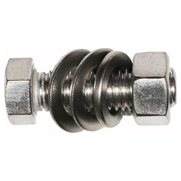 Acorn Stainless Mid Mount Rail Stop Kit