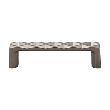 Top Knobs Mercer Quilted 3 3/4 Inch Cabinet Pull