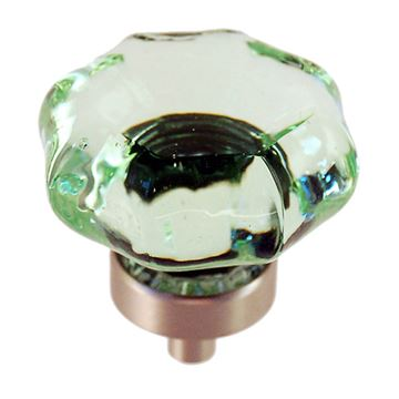 Restorers Classic Depression Green Glass 1 1/2 Inch Knob