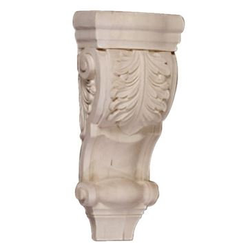 Legacy Artisan 10 Inch Low Profile Acanthus Scroll Corbel