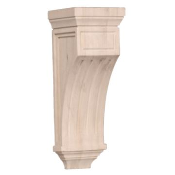 Legacy Artisan 14 Inch Mission Fluted Corbel