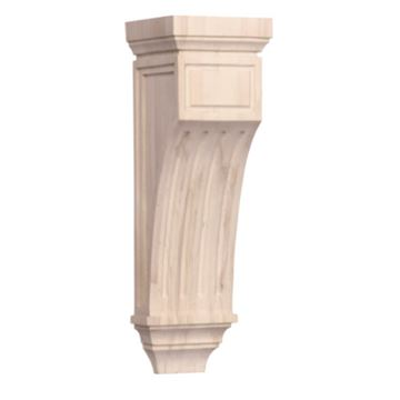 Legacy Artisan 18 1/2 Inch Mission Fluted Corbel