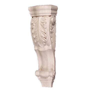 Legacy Artisan 22 Inch Low Profile Acanthus Scroll Corbel
