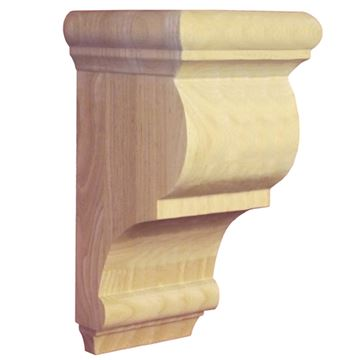 Legacy Artisan Wide 12 Inch Transitional Bracket Corbel