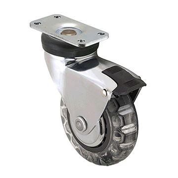 Designs of Distinction 3 Inch Vipor Caster with Brake