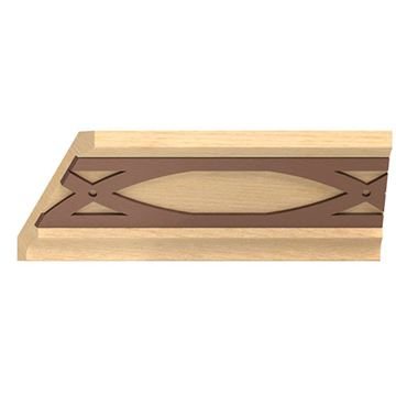 Designs Of Distinction Crown Molding With Bronze Abbey Insert